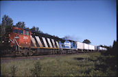 CN C40-8M 2400 (22.06.1997, Peary, MN)