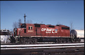 CP GP38-2 3057 (01.2005, Smiths Falls, ON)
