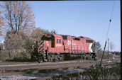 CP GP38-2 3096 (10.2009, Smiths Falls, ON)