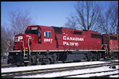 CP GP38-2 3097 (14.03.2011, London, ON)