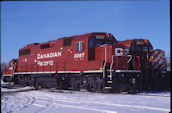CP GP38-2 3097 (01.2011, Smiths Falls, ON)