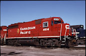 CP GP40u 4614 (25.01.2001, Franklin Park, IL)