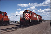 CP GP9r 1524 (01.06.1991, Lethbridge, Alb.)