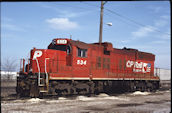 CP SD10  534 (02.03.1997, Franklin Park, IL)