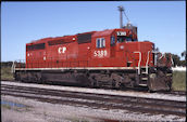 CP SD40-2 5389 (01.09.2002, Thief River Falls, MN)
