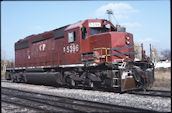 CP SD40-2 5396 (09.10.2003, Thief River Falls, MN)
