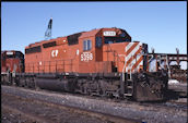CP SD40-2 5398 (25.03.2002, Thief River Falls, MN)