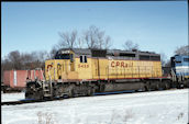 CP SD40-2 5428 (15.01.1996, London, ONT)