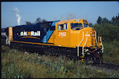 ONT SD75I 2102 (25.08.1999, Englehart, ON)