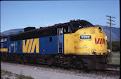 VIA FP7u 6569 (16.05.1983, Salmon Arm, BC)