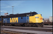 VIA FP9 6521 (16.11.1978, Windsor, ON)