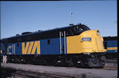 VIA FP9 6531 (18.06.1988, Mimico, ON)