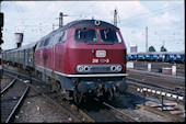 DB 218 111 (24.08.1981, Hamburg-Altona)