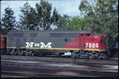 FNM FP9 7020 (12.08.1979, Aguacalientes, AGS)