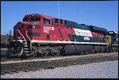 FXE ES44AC 4662 (10.02.2012, Ft. Worth, TX)