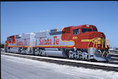 ATSF GP60M  100:4 (18.05.1990, Chicago, IL)