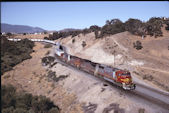 ATSF SD75M  201:2 (19.07.1997, Cable, CA)