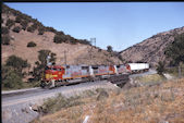 ATSF SD75M  226:2 (25.05.1997, Cable, CA)