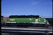 BN SD40G 7307 (02.09.1990, Denver, CO)
