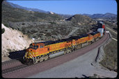 BNSF C44-9W 5123 (10.04.2011, Cajon Pass MP62, CA)
