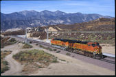 BNSF ES44DC 7613 (03.10.2008, Cajon Pass MP58, CA)