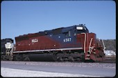 HLCX SD40M-3 6507 (26.10.2002, Council Bluffs, IA)