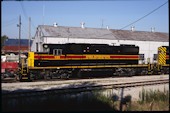 IAIS SD38-2  155 (10.07.2010, Council Bluffs, IA)