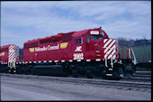 NCRC SD38-2M 2002 (28.03.2008, Council Bluffs, IA)