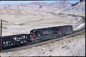 SP SD40T-2 8520 (03.06.1996, Thompson Hill, UT)