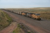 UP AC4400CW 7243 (12.09.2013, b. Bill, WY)