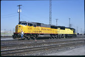 UP SD60M 6305 (07.06.1996, Salt Lake City, UT, mit CNW SD60 8020)